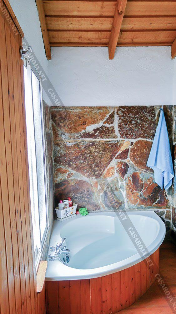 Vivienda H baño con bañera de esquina